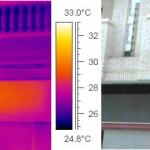 Estudio termográfico en edificio residencial